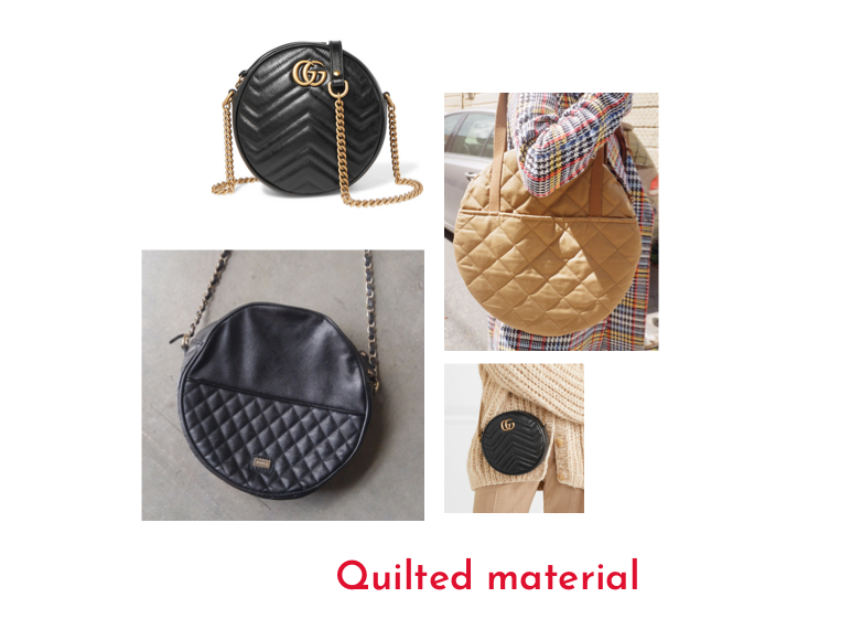 All Well - Full Moon Bag - RTW Design Detail Inspiration - quilted