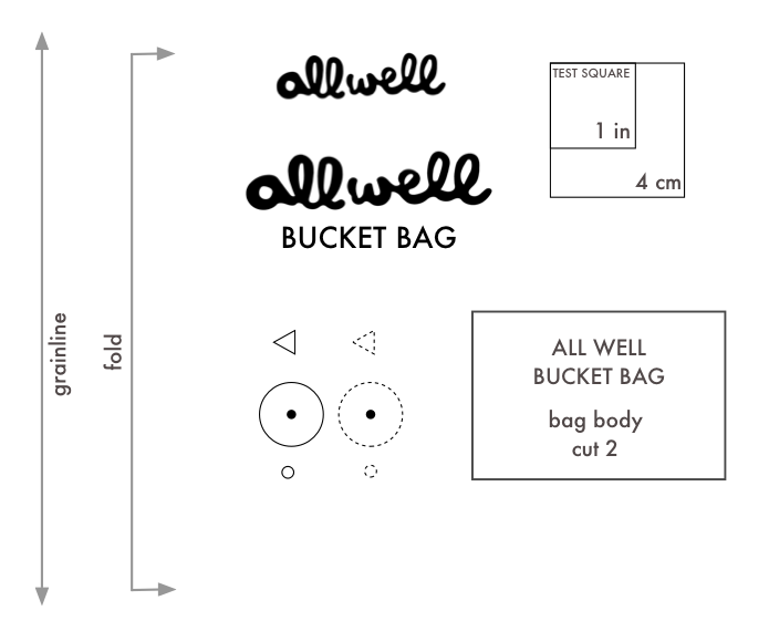 bucket bag behind the scenes - symbols overview