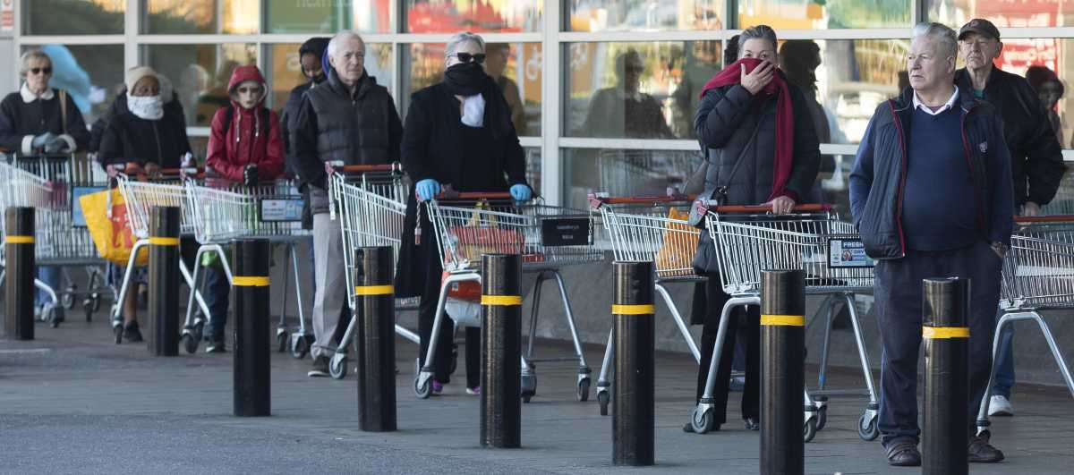 Coronavirus' impacts on shoppers and supermarkets.