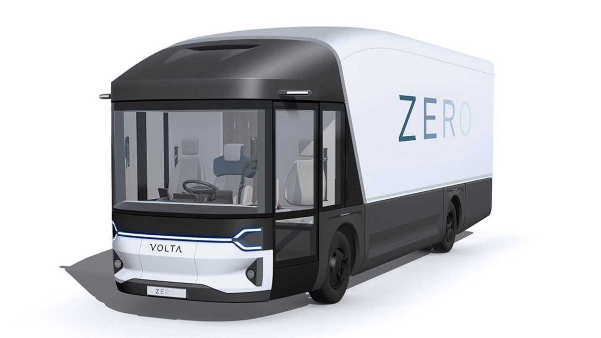 volta trucks - electrically powered and sustainable commercial freight vehicles.