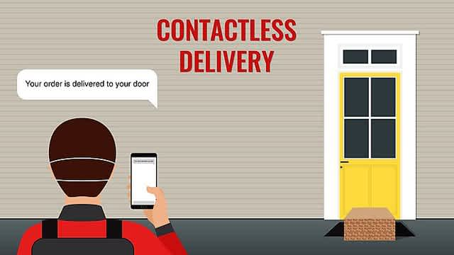 Delivery Management Systems and contactless deliveries
