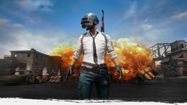 A promotional picture of the battle royal game PUBG