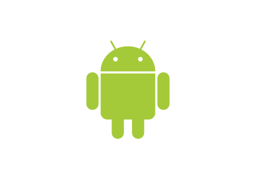 An image of Androids green mascot