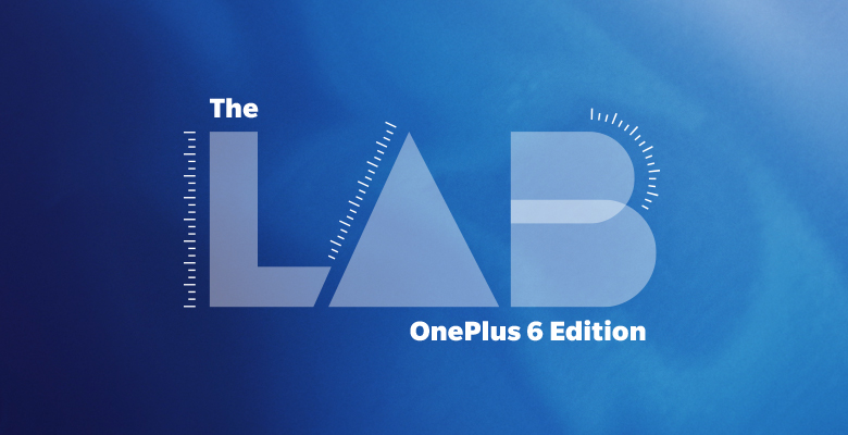 A promotional picture of The Lab OnePlus 6 Edition