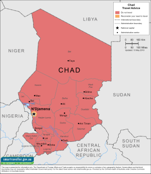 Chad Traveler Information - Travel Advice