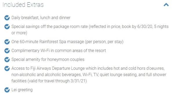 Costco-Travel-Insurance-Koro-Sun-Resort-Fiji-Extras