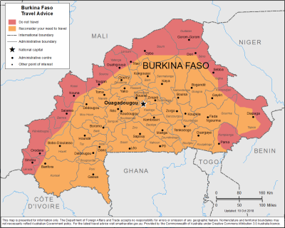 Burkina Faso Travel Health Insurance - Country Review