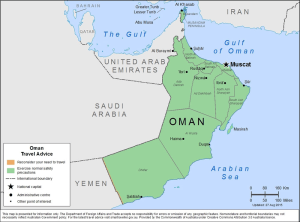 Oman Traveler Information - Travel Advice