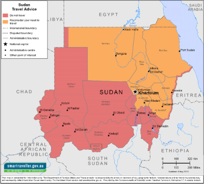 Sudan Travel Health Insurance - Country Review