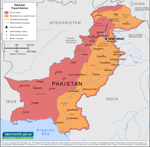 Pakistan Traveler Information - Travel Advice