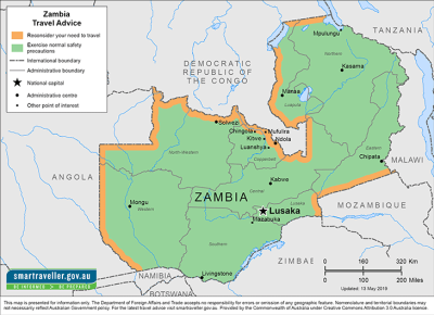 Zambia Travel Health Insurance - Country Review