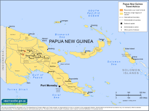 Papua New Guinea Traveler Information - Travel Advice