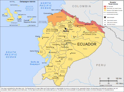 Ecuador Travel Health Insurance - Country Review