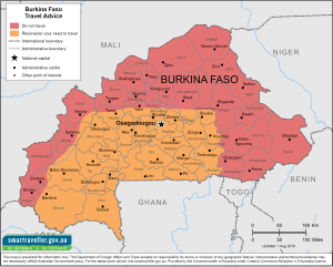 Burkina Faso Traveler Information - Travel Advice