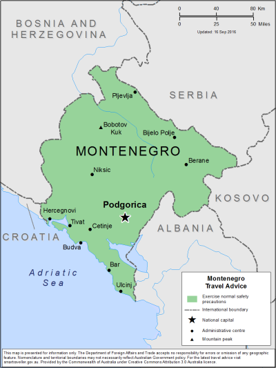Montenegro Travel Health Insurance - Country Review