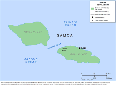 Samoa Travel Health Insurance - Country Review