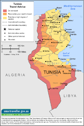 Tunisia Travel Health Insurance - Country Review