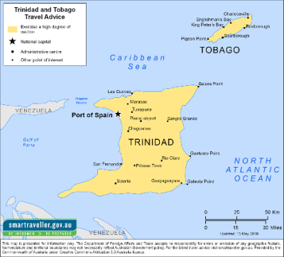 Trinidad and Tobago Travel Health Insurance -Country Review