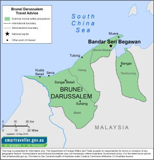 Brunei Traveler Information - Travel Advice