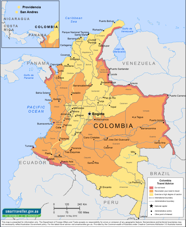 Colombia Map