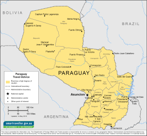 Paraguay Traveler Information- Travel Advice