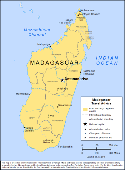 Madagascar Travel Health Insurance - Country Review