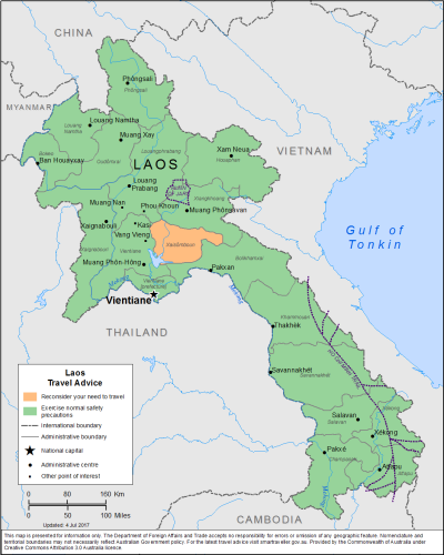 Laos Travel Health Insurance - Country Review