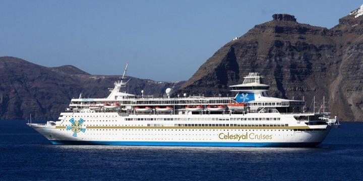 Celestyal Olympia Santorini Greece