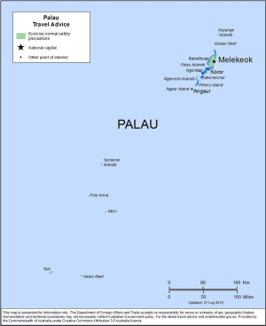 Palau Traveler Information - Travel Advice