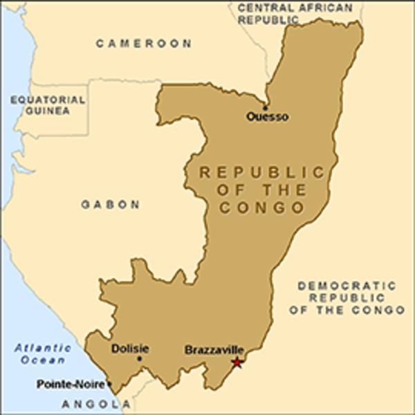 Republic of the Congo Map