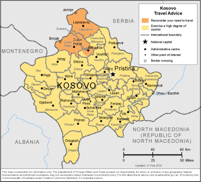 Kosovo Travel Health Insurance - Country Review