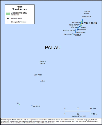 Palau Travel Health Insurance - Country Review