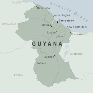 Guyana Traveler Information - Travel Advice