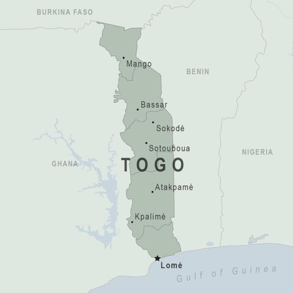 Togo Map