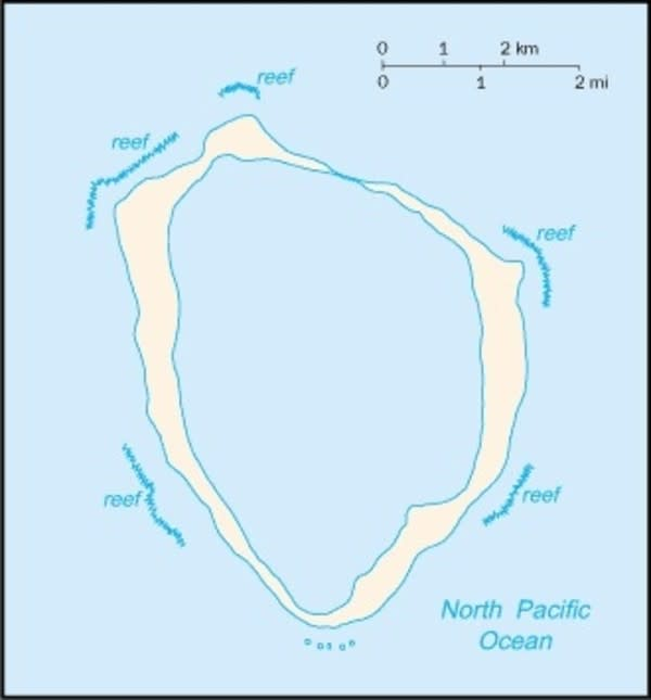 Clipperton Island Map