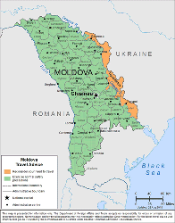 Moldova Travel Health Insurance - Country Review
