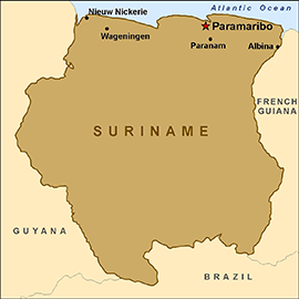 Suriname Travel Health Insurance - Country Review