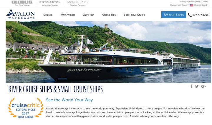 Avalon Waterways Travel Insurance