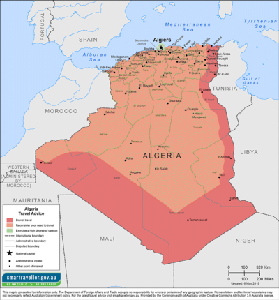 Algeria Traveler Information - Travel Advice
