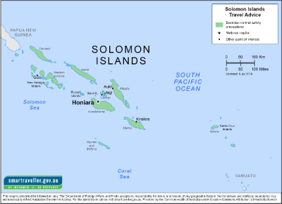 Solomon Islands Travel Health Insurance - Country Review