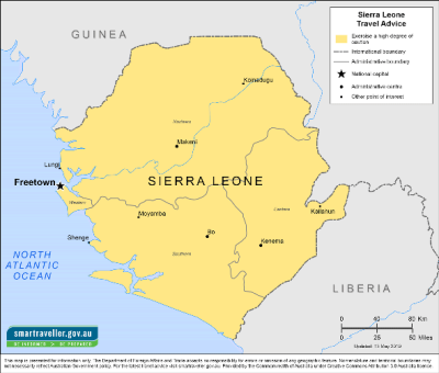 Sierra Leone Travel Health Insurance - Country Review
