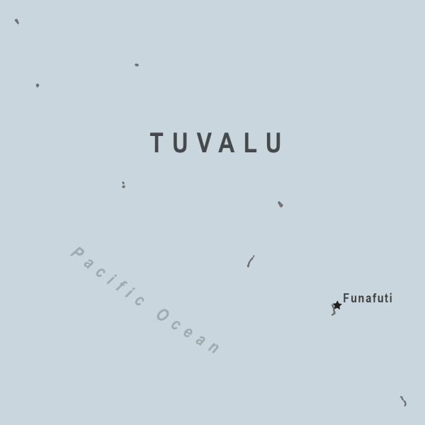 Tuvalu Map