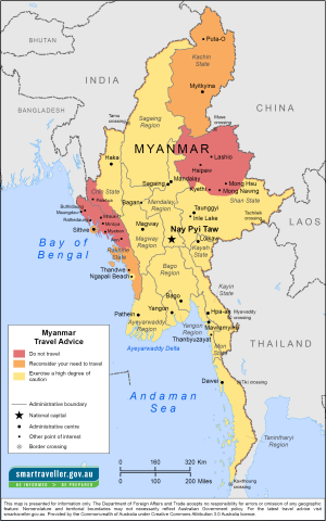 Burma Traveler Information - Travel Advice