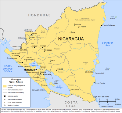 Nicaragua Travel Health Insurance - Country Review