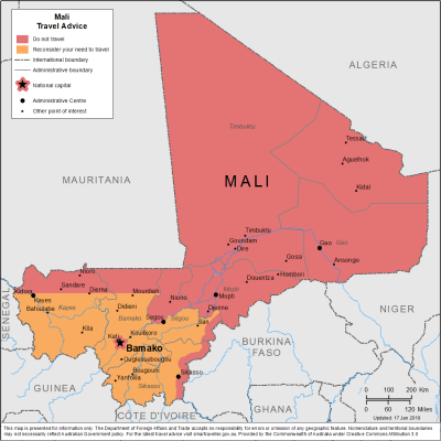 Mali Travel Health Insurance - Country Review