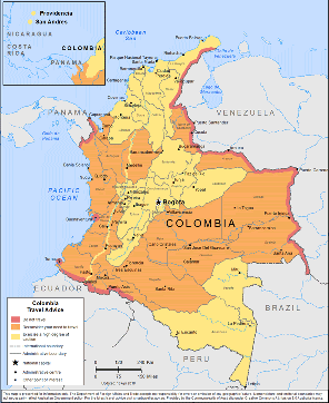 Colombia Travel Health Insurance - Country Review