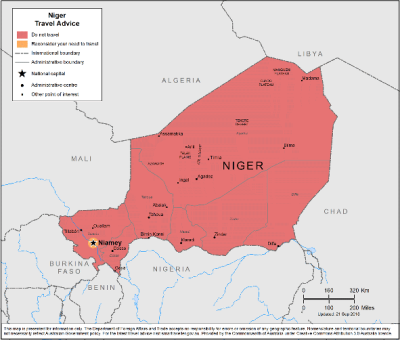 Niger Travel Health Insurance - Country Review