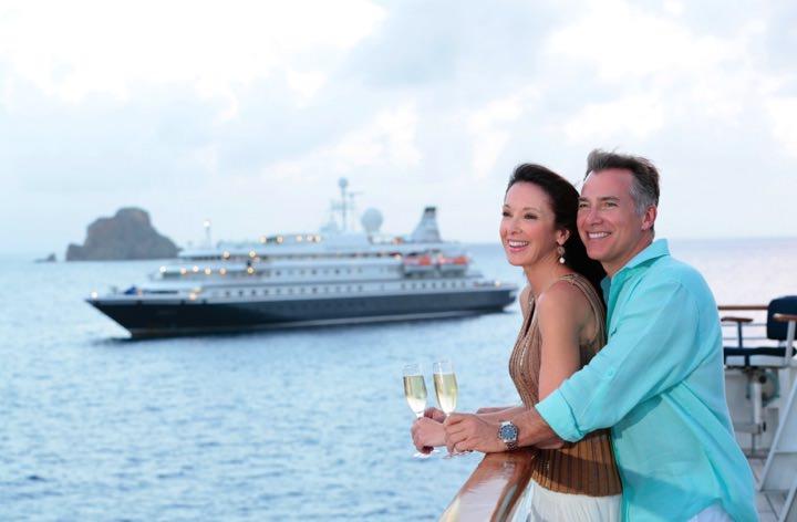 SeaDream Yacht Club Passangers