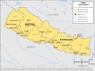 Nepal Travel Health Insurance - Country Review