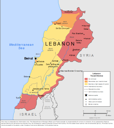Lebanon Travel Health Insurance - Country Review